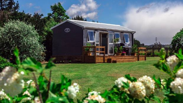 Tiny homes are an answer to the housing crisis, according to manufacturer Colin Wightman who makes them ready to go for ...