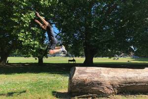 Parkour participants have control of the obstacles and intensity that they want to practice — so that doesn't mean you ...
