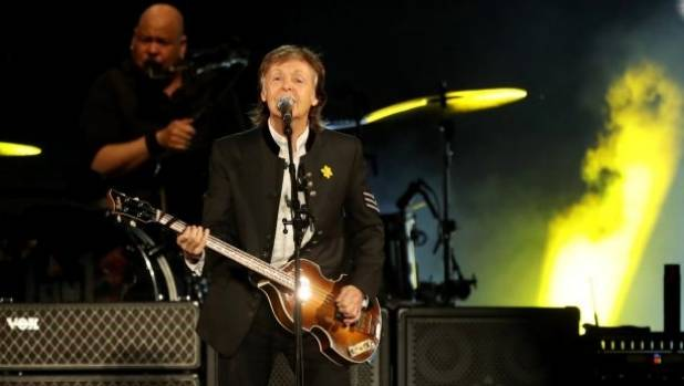 Paul McCartney took his One on One tour to Australia for his first live shows there since 1993.