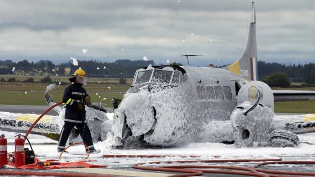 Firefighter foam poses water risk around NZ air bases