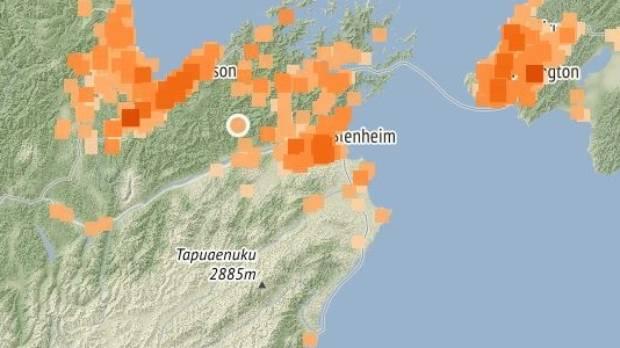 Quake rattles South Island, Wellington