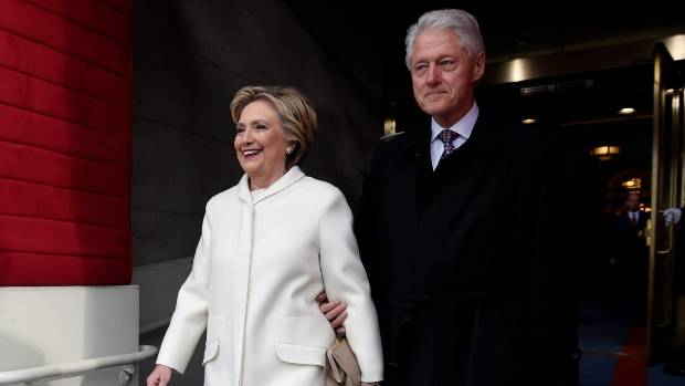 Fire breaks out at Hillary and Bill Clinton's property in New York