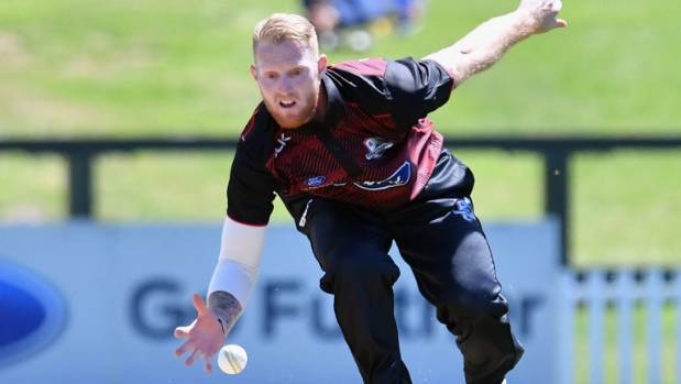 Stokes run out for duck in Christchurch
