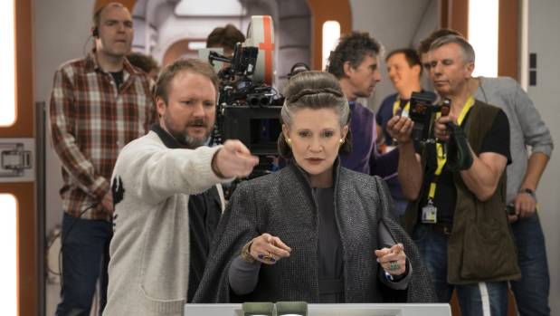 'Star Wars: The Last Jedi' director dedicates premiere to Carrie Fisher