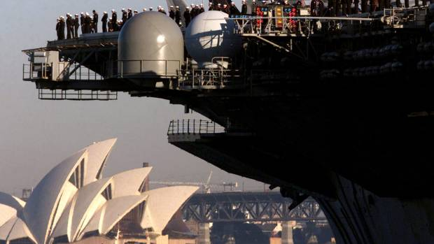 Money, military keys to Aussie foreign policy