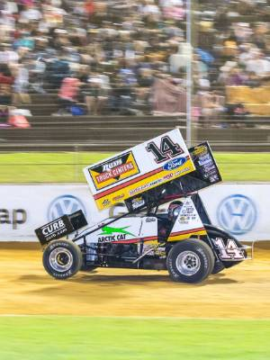 Tony Stewart will be looking to dominate the field in Palmerston North on Tuesday night.