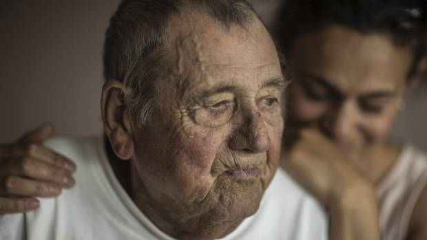 Dying man cries tears of joy as Christchurch company offers to pay for funeral