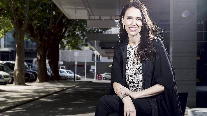 da52edbe333e Jacinda Ardern is known for wearing New Zealand labels.