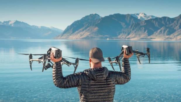 Drone filmmaker creates mini series of New Zealand landscapes