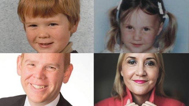 Then and now: Chris Hipkins, left, loved the arts at school, while Nikki Kaye favoured maths.