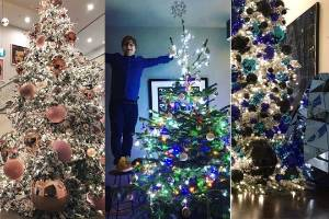 Ed Sheeran is feeling festive, but which other celebrities are decorating like mad for Christmas?