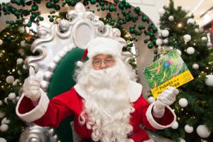Santa will be at Lynmall for more than 200 hours throughout December.