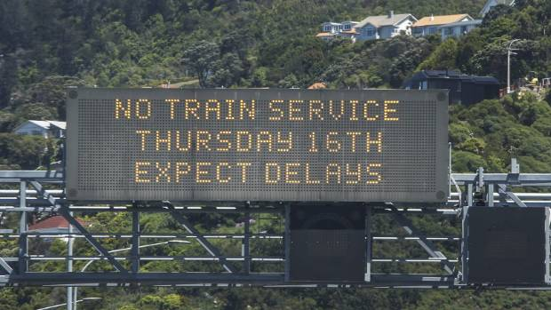 Last month's train strike across the Wellington region put extra stresses on the Johnsonville team.
