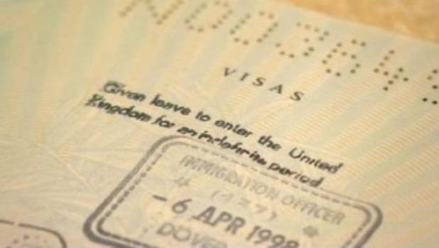 It is alleged that because her entitlement was previously shown as a stamp in her passport, it is no longer deemed valid ...