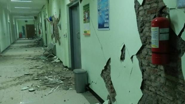 Quake  hits Indonesian island of Java
