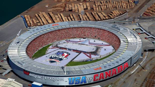 Ice hockey coming to Westpac Stadium, Spark Arena and Queenstown in 2018