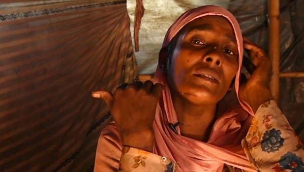 """I saw my family killed with my own eyes,"" Almas Khatun says as she recounts the horrors of the Myanmar massacres."