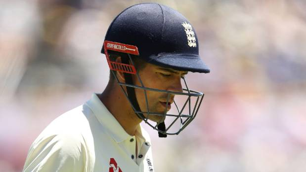 England opening batsman Alastair Cook has struggled to buy a run in this Ashes.