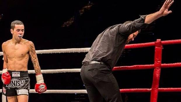Porirua kickboxer fighter flown to Christchurch with spinal injuries
