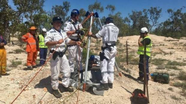 Woman rescued days after falling down mine shaft in Australia