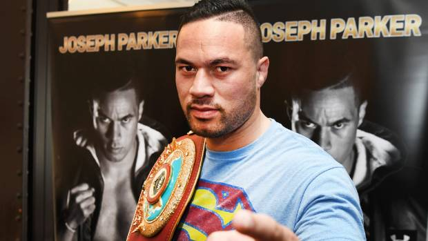 Joseph Parker determined to 'smash' Anthony Joshua's 'glass chin'