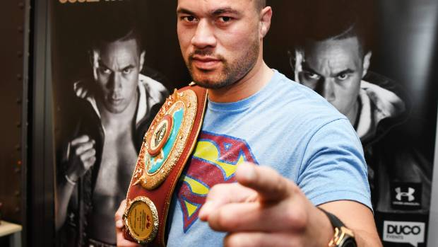 Anthony Joshua tickets information for Joseph Parker fight