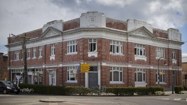 This building on the corner of Marton's High St and Broadway was built in 1924.