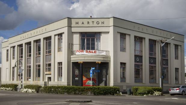 Marton's old post office on Broadway is up for sale.