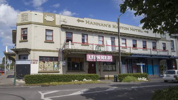 Hannah's Marton Hotel, now the Club Hotel, on High St was established in 1862 and rebuilt in 1924