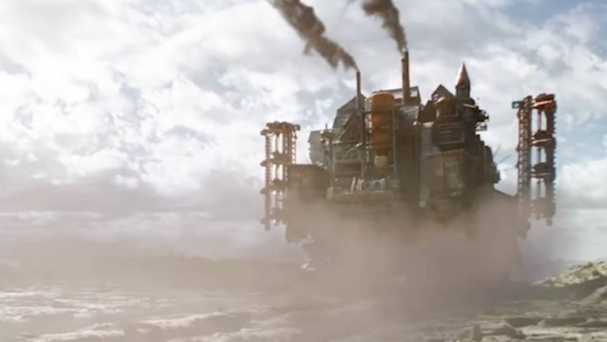 The traction cities have been a big part of the visual FX laden teaser trailers for the Sir Peter Jackson-produced Mortal Engines.