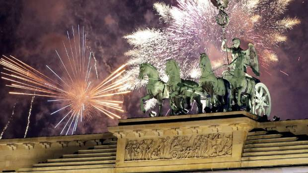 NY  and Berlin tighten security around New Year's Eve celebrations
