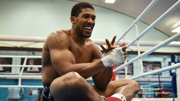 Anthony Joshua set to weigh-in lighter for Joseph Parker bout