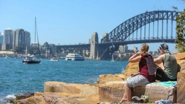 Temperatures have soared around Sydney and the rest of NSW.