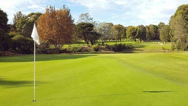 The man was playing at Woolooware Golf Club in Sydney when he collapsed and died.