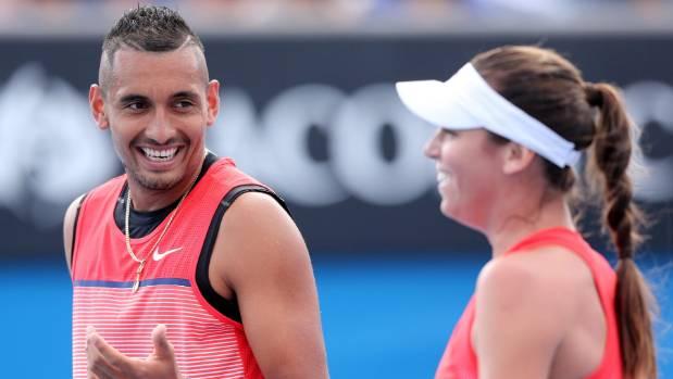 Australian tennis stars Ajla Tomljanovic and Nick Kyrgios seem to be a doubles act again.
