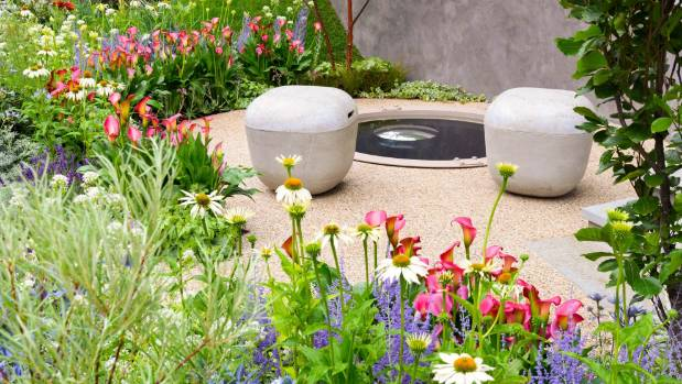 On The Edge: The Centre For Mental Health Garden At The UKu0027s RHS Hampton  Court