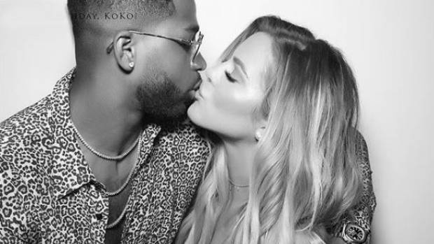 Kardashian and her partner basketballer Tristan Thompson