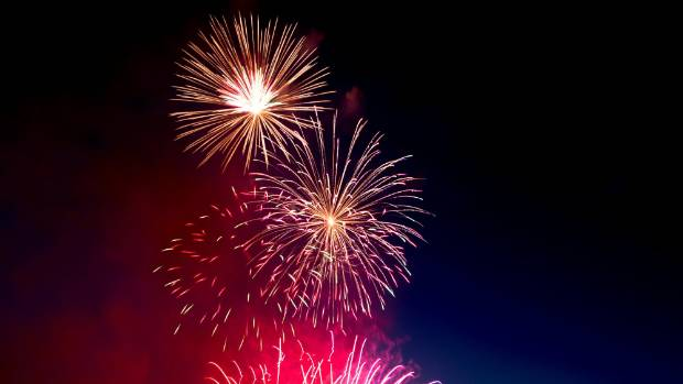Those left in Hamilton for New Year's Eve can take a short drive out to Raglan to witness a fireworks display (file photo).