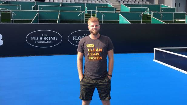 Sebastian Lavie is back on centre court in Auckland, but this time as a coach.