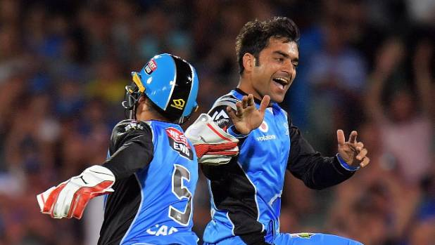 Afghan helps Strikers sink Thunder in BBL