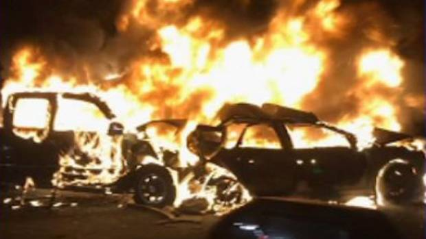2 killed, several injured in fiery multi-car crash in NJ