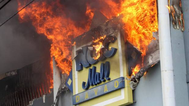 'Zero survival' among 37 persons trapped in Davao mall fire