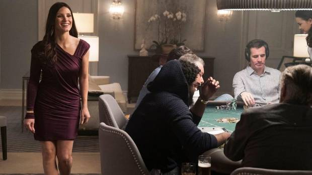 Jessica Chastain delivers an intense performance in 'Molly's Game'