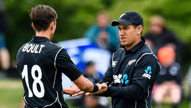 New Zealand hand West Indies a target of 188