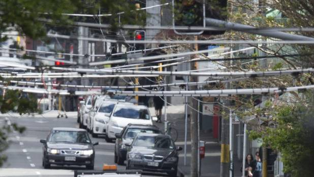 Trolley bus wires to be removed from wellington 39 s cbd in for 20 kent terrace wellington