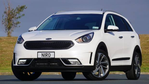 All-electric Kia Niro unveiled at CES 2018