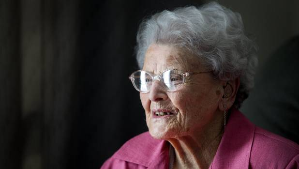 Centenarian says the secret to long life is...there is no secret