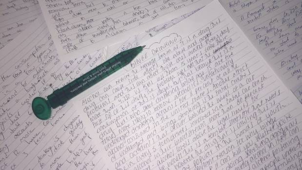 teen binge drinkers handwrite essays for police to avoid  drinking can rewire the teenage brain writes a youth keen to avoid a 250 instant