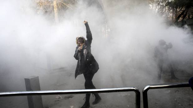 Death toll rises in violent Iran demonstrations