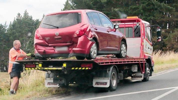 Multiple Car Crash In Tauriko Near Tauranga Stuff Co Nz